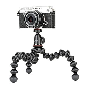 Joby JB01503 GorillaPod 1K Kit - Best Tripods for Smartphone: Super flexible