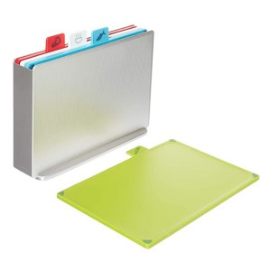 Joseph Joseph Index Plastic Cutting Board Set - Best Cutting Boards for Vegetables: Remarkably innovative