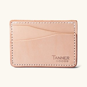 Tanner Goods Journeyman - Best Leather Card Holders: Natural Tooling Leather