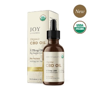 Joy Organics Premium CBD Pet Tincture for Dogs & Cats (Broad Spectrum) - Best CBD for Dogs Arthritis: Premium Ingredients