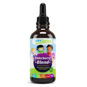 Joy Spring ElderBerry Blend+ - Best Elderberry Syrup for Kids: Blend of Herbs and Elderberry
