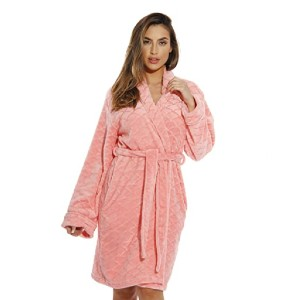 Just Love Store Printed Plush Robe for Women - Best Robes on Amazon: Ultra-Soft Robe