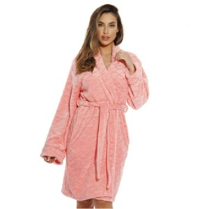 Just Love Store Printed Plush Robe for Women - Best Robes for New Mom: Washable Robe