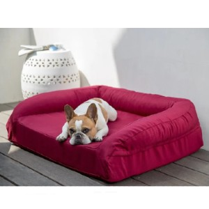 K9 Ballistics Tough Bolster Orthopedic Dog Bed™ - Best Dog Beds for Chewers: Good Bed for Dog's Joint