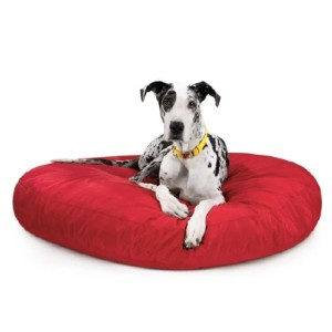 K9 Ballistics Tough Round Nesting Dog Bed™ - Best Dog Beds for Chewers: Bed with Solid Foam