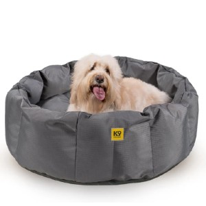 K9 Ballistics Tough Deep Den Dog Bed™ - Best Dog Beds for Chewers: Bed with All Side Bolster