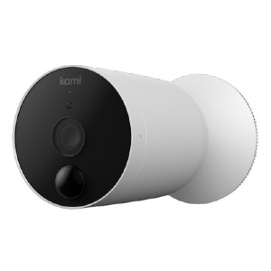 KAMI WIRE-FREE OUTDOOR CAMERA - Best WiFi Security Cameras Outdoor: Versatile and Portable