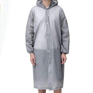 KCHIES Reusable Long Rain Ponchos - Best Raincoats for Festivals: The Drawstring Hood
