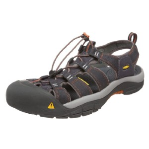 Keen Men's Newport H2 Sandal - Best Sandals for Wide Feet: Elastic Cord Lace