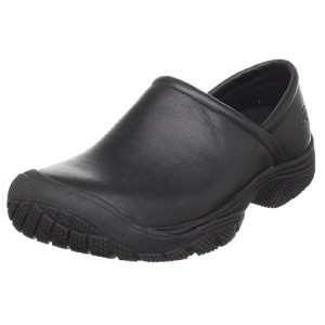 Keen Men's PTC Slip On 2 Low Height No Lace Chef Food Service Shoe - Best Kitchen Shoes for Chefs: Stain-Resistant Leather Shoes