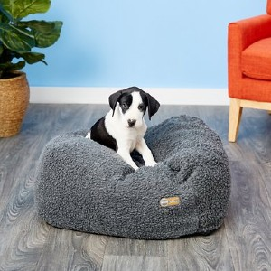 K&H Cuddle Cube Pillow Cat & Dog Bed - Best Dog Beds for Small Dogs: Stay Put Bed