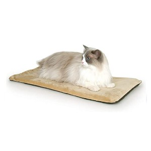 K&H PET PRODUCTS Heated Thermo-Kitty Mat - Best Cat Beds for Large Cats: Responds to temperature changes