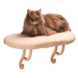 K&H PET PRODUCTS Kitty Sill - Best Orthopedic Cat Beds: Beautiful window perch