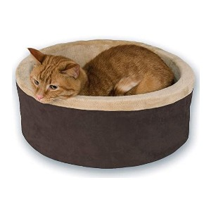 K&H PET PRODUCTS Heated Thermo - Best Cat Beds for Large Cats: Soft, sturdy, warm