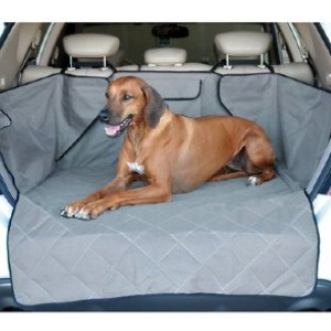K&H Pet Products Quilted Cargo Cover - Best Dog Car Seat Covers: Car Seat Cover with Fuzzy Fastener Flaps