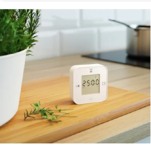 KLOCKIS Clock/thermometer/alarm/timer - Best Alarm Clock for Bedroom: With Both Light and Sound for Waking Up
