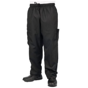 KNG Store Black Cargo Style Chef Pant - Best Cargo Pants for Work: Pants for Professional Chef