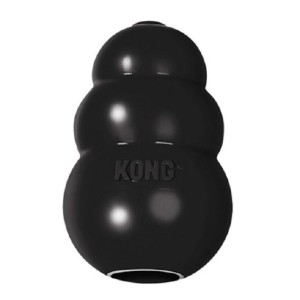 KONG Extreme Dog Toy - Best Dog Toys for Pit Bulls: Rubber Dog Toy