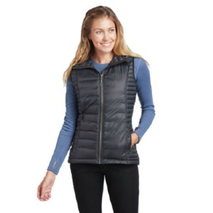 Kuhl Spyfire Hooded Down Vest - Best Vests for Hiking: Vest with Wind- and Water-Resistant Shell