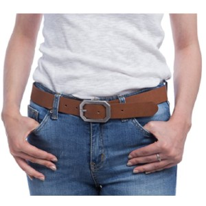 Kamots Beauty Store Reversible Leather Belts for Women - Best Women's Leather Belts for Jeans: Reversible Belt
