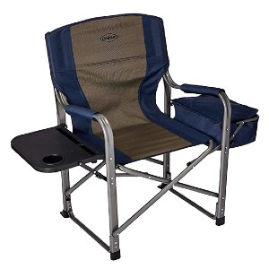 Kamp-Rite Director's Chair - Best Outdoor Folding Chair: Great side table and cooler