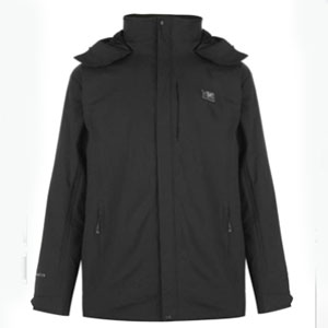 Karrimor 3 Infants Weathertite Jacket 3in1 Coat Top - Best Raincoats for Cold Weather: Super waterproof jacket