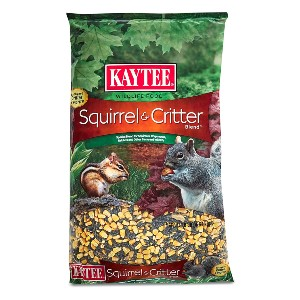 Kaytee Squirrel and Critter Blend - Best Bird Food to Attract Colorful Birds: High-Quality Seeds and Grains