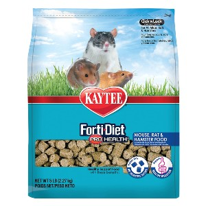 Kaytee Forti Diet Pro Health Small Animal Food - Best Ferret Food for Smell: Lots of Nutrition