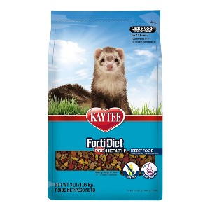 Kaytee Forti Diet Pro Health Small Animal Food  - Best Ferret Dry Food: Bigger and Crunchy Bits