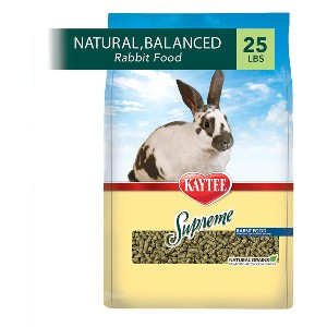 Kaytee Supreme Rabbit Food - Best Rabbit Food for Baby Rabbits: Food with Natural Protein