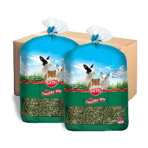 Kaytee All Natural Timothy Hay for Small Animals - Best Rabbit Food for Holland Lops: Low Protein and Rich in Fiber