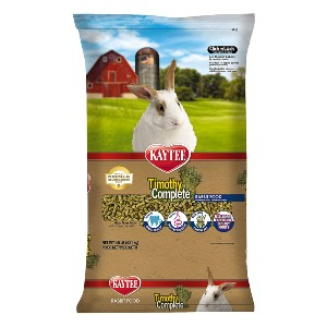 Kaytee Timothy Complete Rabbit Food - Best Rabbit Food for Baby Rabbits: Support General Health