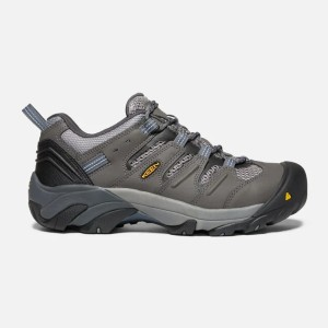 Keen Men's Lansing Low (Steel Toe) - Best Safety Toe Shoes: Left and Right Steel Toes