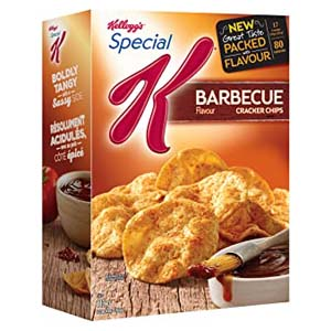 Kellogg's Special K Cracker Chips BBQ - Best Healthy Snack: The real BBQ taste