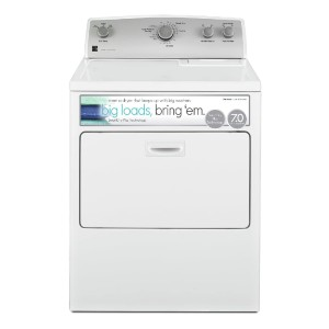 Kenmore 65132 7.0 cu. ft. Electric Dryer - Best Electric Dryers Under $800: Crisp, wrinkle-free clothes