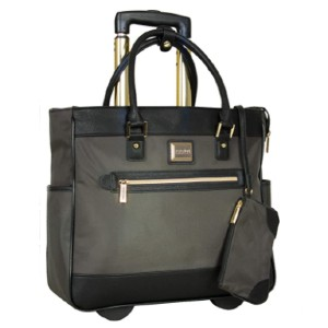 Kenneth Cole Reaction  Anti-Theft RFID Wheeled Business Carry-On Tote - Best Bags for Teachers: Main Compartment Includes a Padded Laptop