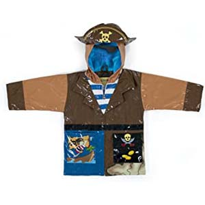 Kidorable Boys' Raincoat - Best Raincoats for Toddlers: Pirate costume style