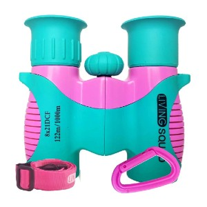 Living Squad Kids Binoculars 8x21 Turquoise - Best Educational Toys for Kindergartners: Not just a toy