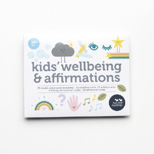 Two Little Ducklings Kids' Wellbeing and Affirmation Cards - Best Flashcards for Preschoolers: Practice mindfulness