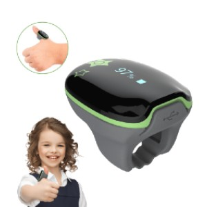 Wellue KidsO2™ Pediatric Oxygen Monitor - Best Pulse Oximeter with Bluetooth: Kids-friendly