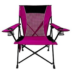 Kijaro Dual Lock Portable Chair  - Best Folding Chair for Back Support: No sag seating