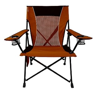 Kijaro Dual Lock Portable Camping Chair - Best Folding Chair for Camping: No sag seating