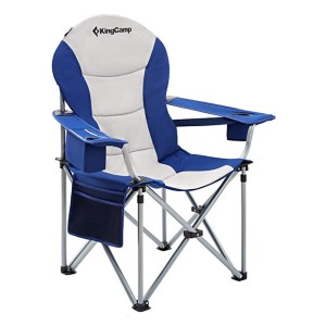 KingCamp Camping Chair with Lumbar Back Support - Best Folding Chair for Back Support: Excellent lumbar support system