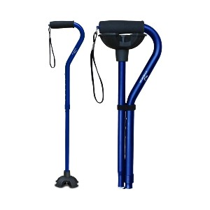 KingGear Adjustable Cane - Best Walking Canes for Balance: Lightweight and Sturdy