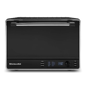 KitchenAid Dual Convection Countertop Toaster Oven - Best Electric Oven for Baking: Oven with Dual Convection Bake for Faster Cook
