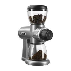 KitchenAid Burr Coffee Grinder - Best Grinder for Pour Over: Sleek Design Grinder