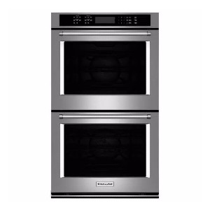 KitchenAid 30 in. Double Electric Wall Oven Self-Cleaning - Best High End Wall Oven: Great for large dishes