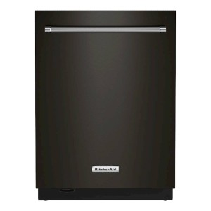 KitchenAid Top Control Built-In Dishwasher  - Best Dishwasher High End: Completely dry