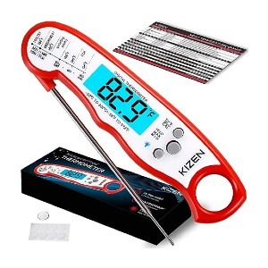 Kizen Digital Thermometers  - Best Meat Thermometer Test Kitchen: For fast reading