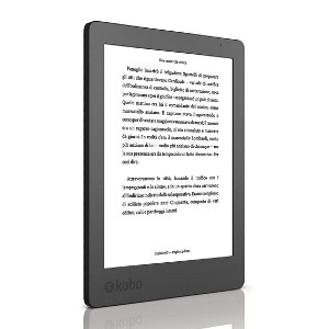 Kobo Aura - Best E-Reader for Manga: Battery lasts over 2 months